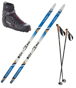 Adults' Discovery Positrack IFP Ski Set with X5 Boot