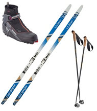 Women's Discovery Positrack IFP Ski Set with X5 FW Boot
