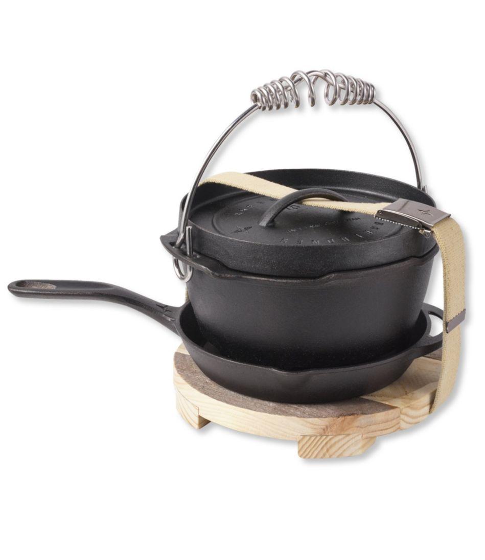Barebones Cast Iron Dutch Oven/Skillet/Trivet Set