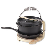 Barebones Cast Iron Dutch Oven/Skillet/Trivet Set