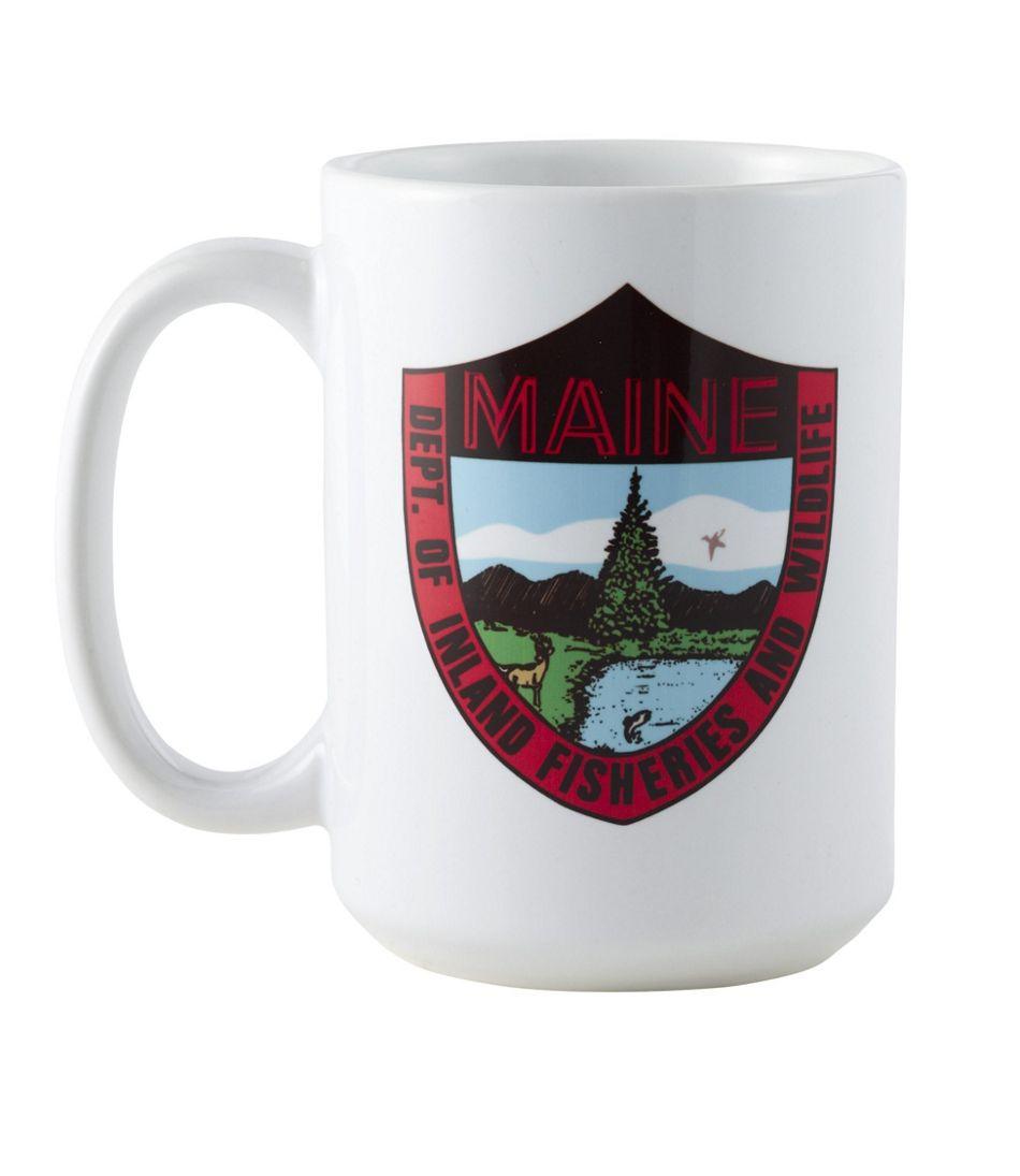 MIF&W Ceramic Mug, Trout