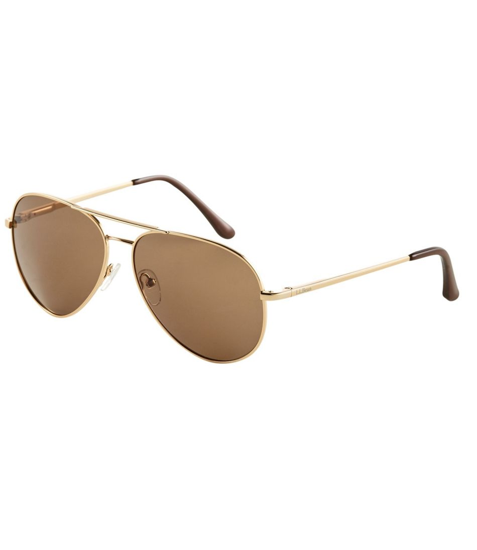 Adults' L.L.Bean Polarized Aviator Sunglasses