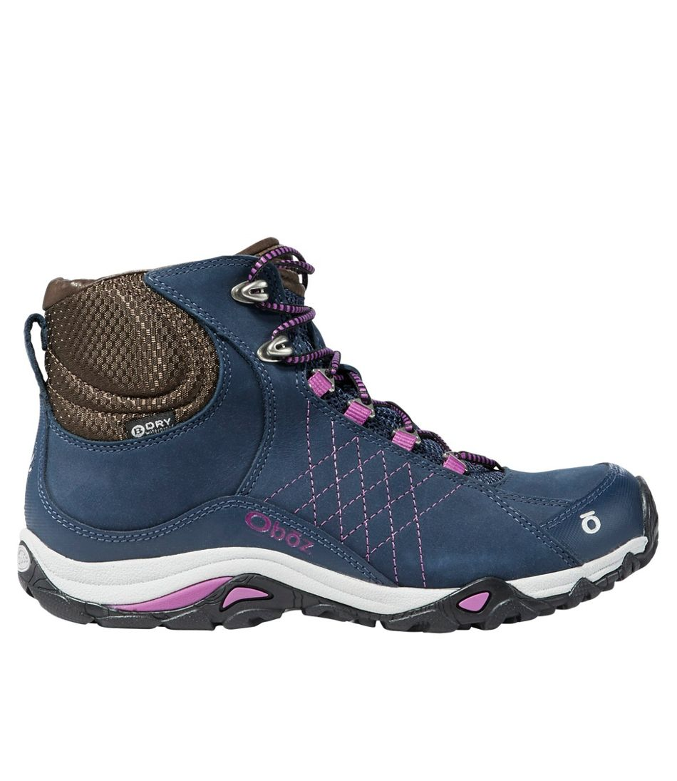 82727a31e80 Women's Oboz Sapphire Waterproof Mid Hikers