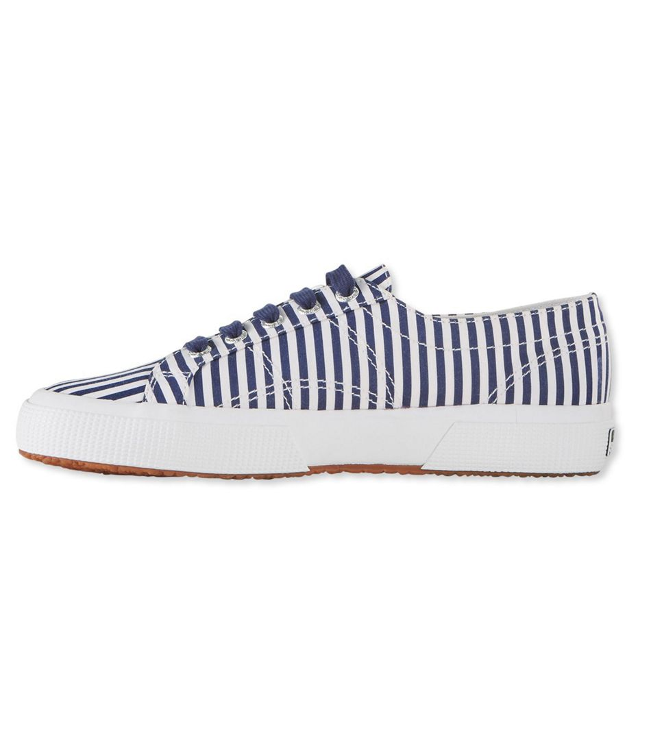 Superga Classic COTU 2750 Sneakers, Shirt Fabric Stripe
