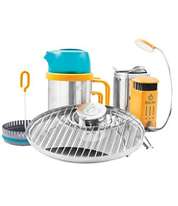 BioLite Camp Stove 2 Bundle with Coffee Press