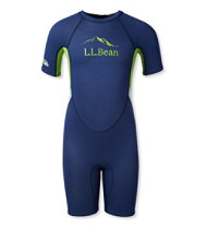 L.L.Bean Kids' Shorty Wet Suit