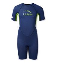 L.L.Bean Kids' Shorty Wet Suit