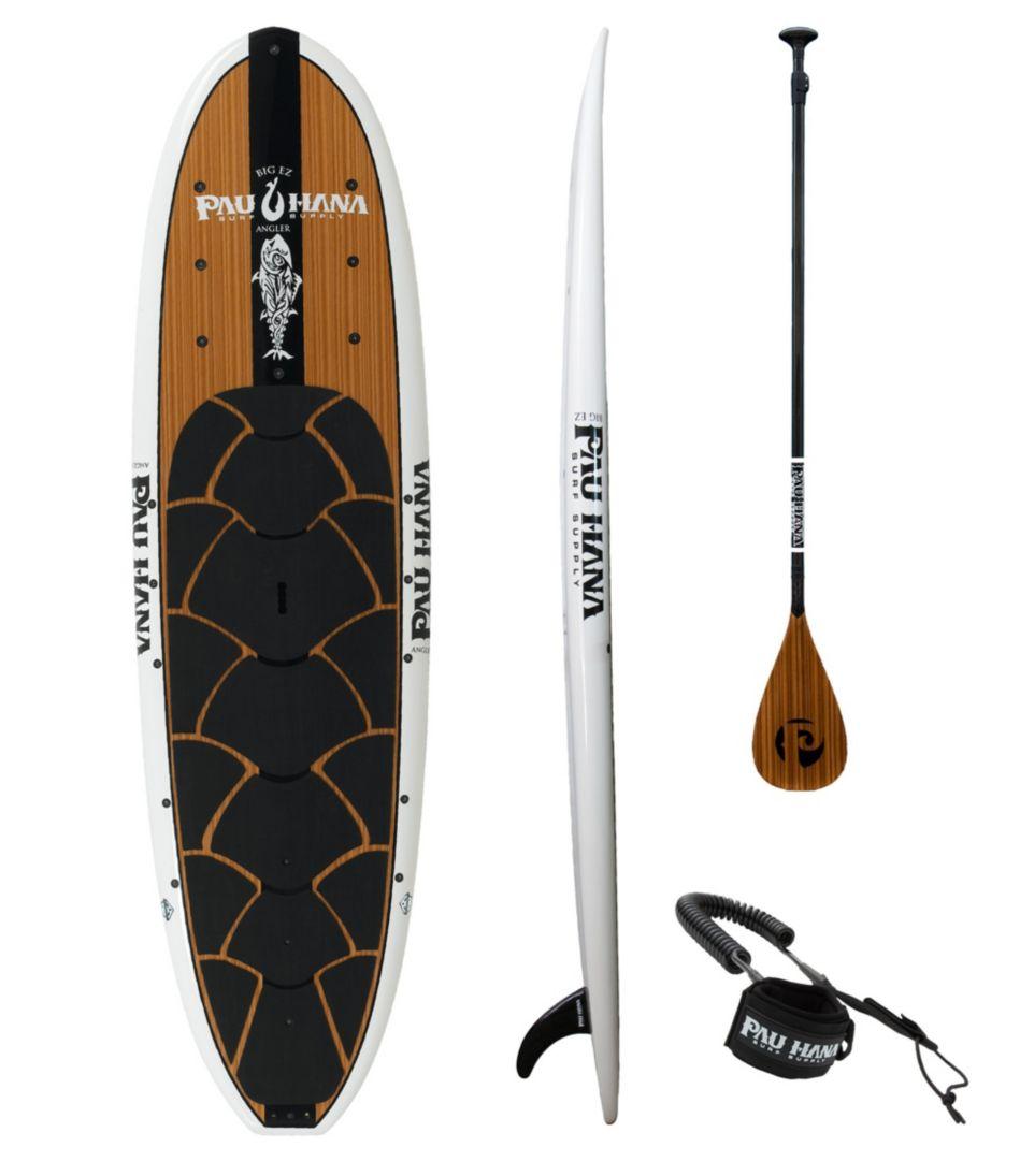 Pau Hana Big EZ Angler Ricochet Stand-Up Paddleboard Package, 11'