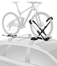 Thule 599000 UpRide Roof-Mounted Bike Rack