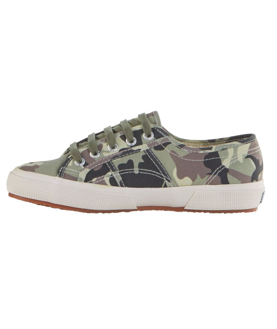 Women's Superga Classic Cuto 2750 Sneakers, Camouflage