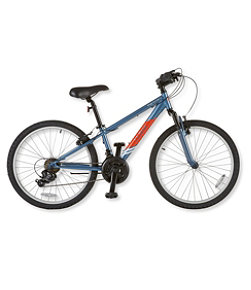 Kids' L.L.Bean Ridge Runner Mountain Bike, 24""