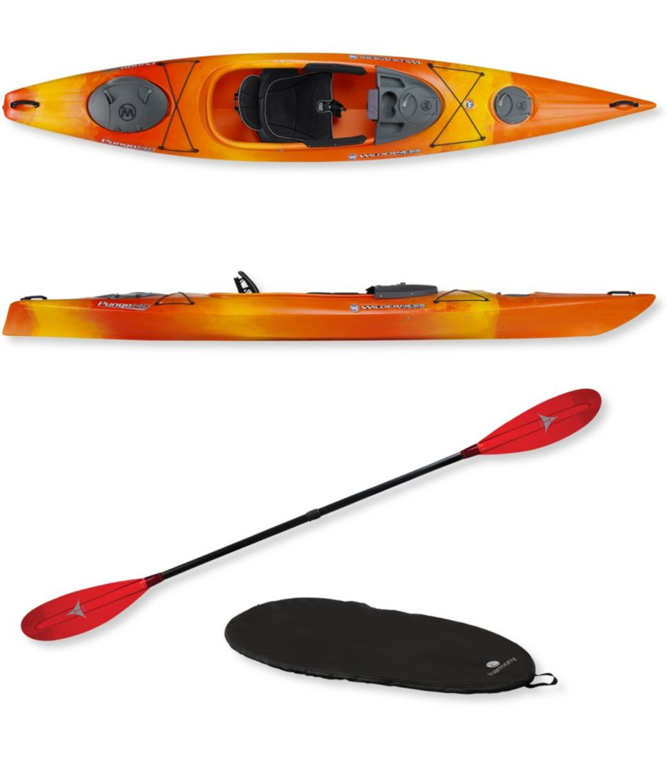 Wilderness Systems Pungo 140 Deluxe Kayak Package