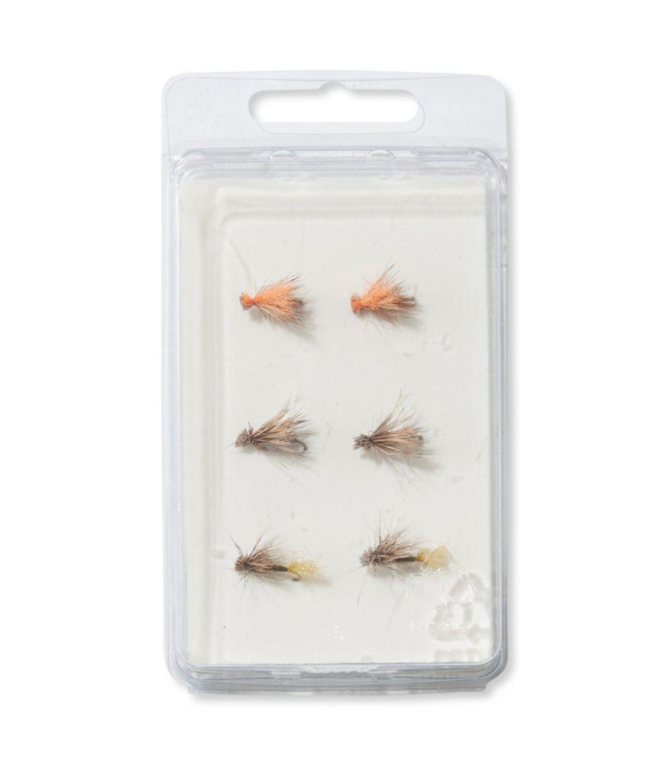 Umpqua Six-Piece Caddis Dry Fly Selection