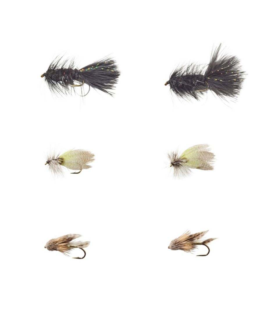 Umpqua Six-Piece Classic Streamer Selection