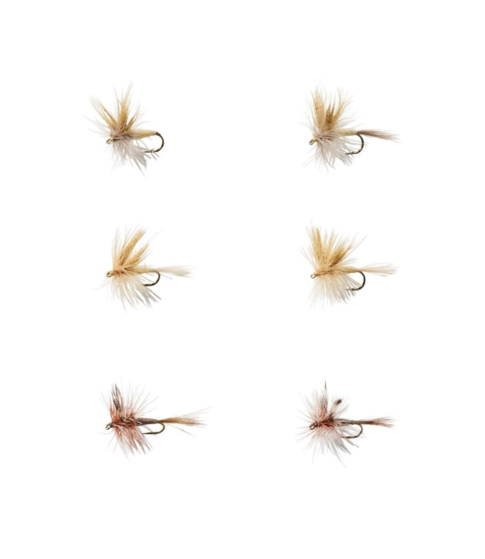 Umpqua Six-Piece Mayfly Dry Fly Selection