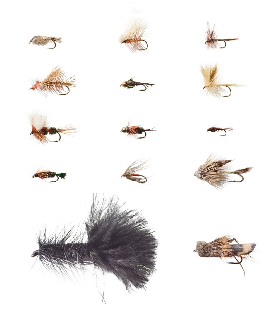 Umpqua 14-Piece Classic Trout Fly Selection