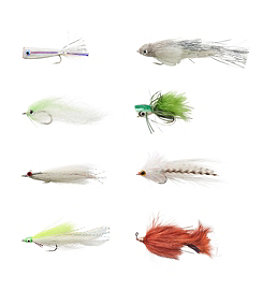 Umpqua Eight-Piece Bass Fly Selection