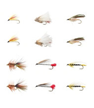 Umpqua 12-Piece Eastern Streamer Fly Selection
