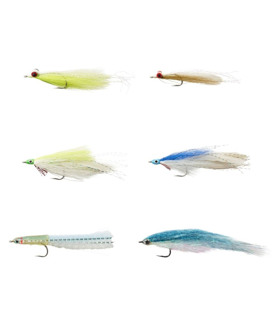 Umpqua Six-Piece Northeast Saltwater Fly Selection