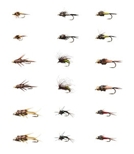 Umpqua 18-Piece Wire Nymph Fly Selection