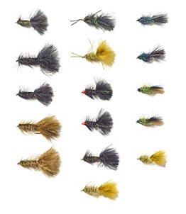 Umpqua 16-Piece Bugger Fly Selection