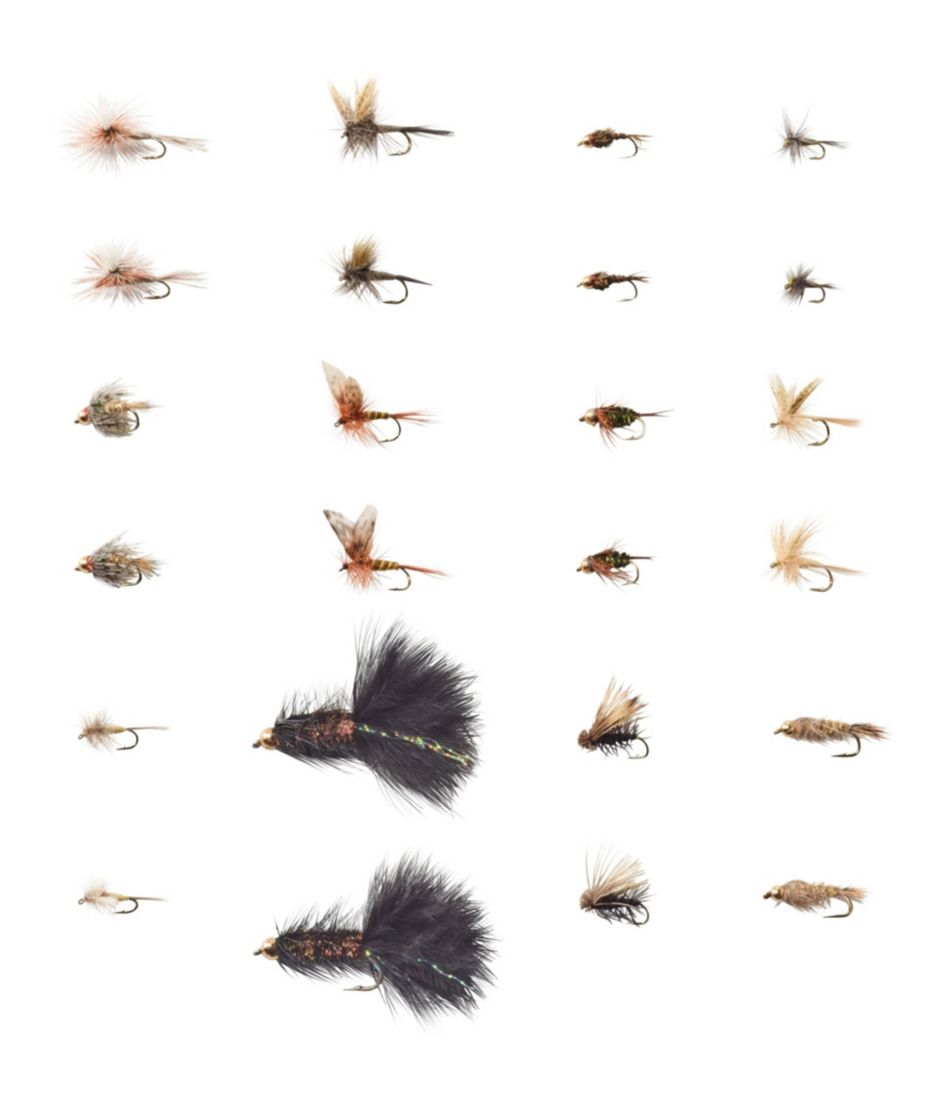 Umpqua 24-Piece Eastern Trout Fly Selection