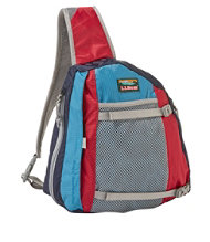 L.L.Bean Stowaway Sling Pack, Multicolored