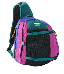 Adults' L.L.Bean Stowaway Sling Pack, Multicolored