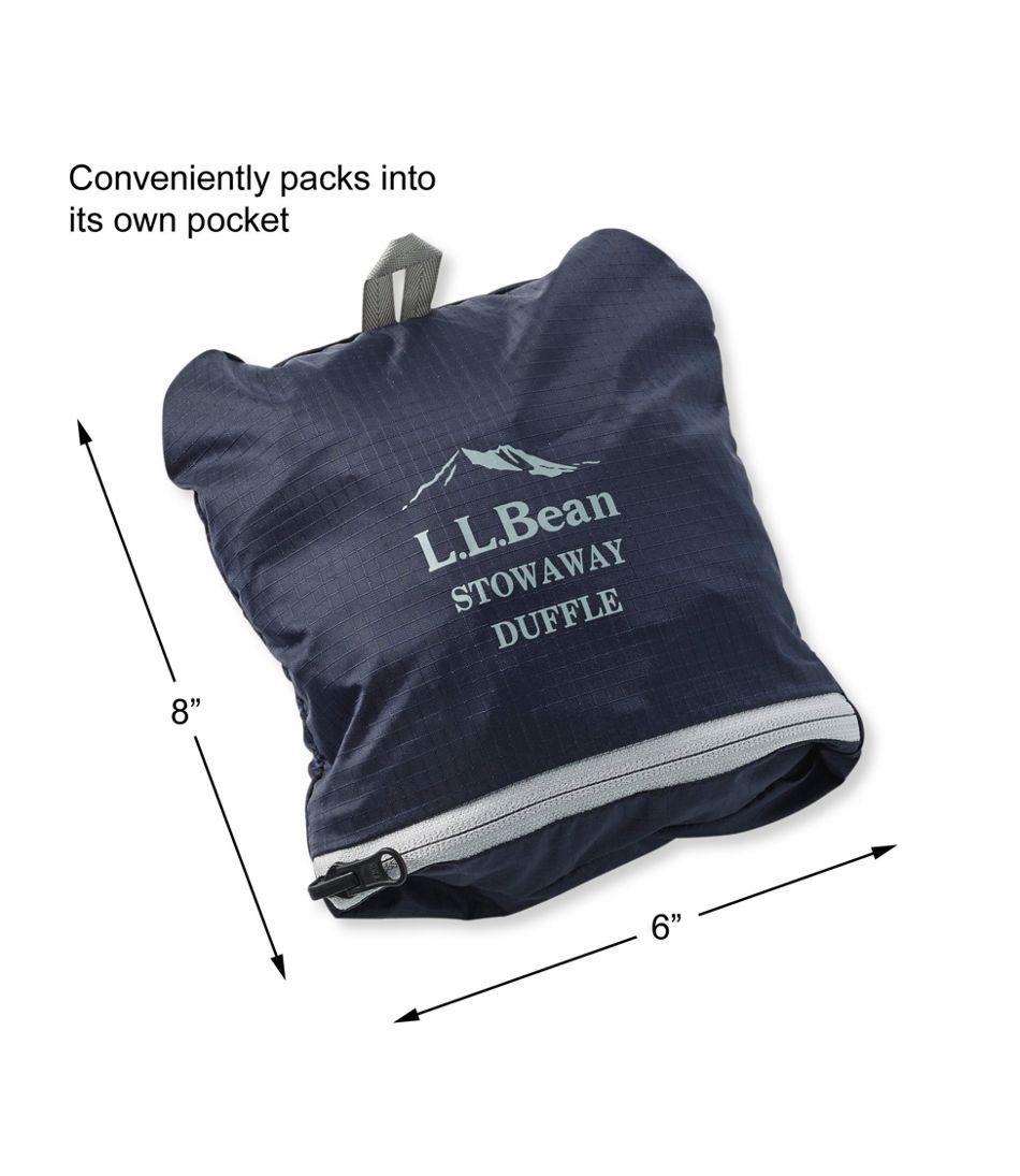 L.L.Bean Stowaway Duffle Bag, Multicolored 90f249db41