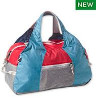 L Bean Stowaway Duffle Bag Multicolored