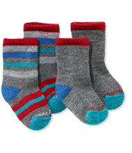 Toddlers' Smartwool Sock Sampler, Two Pack