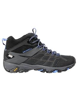 Women's Merrell Moab FST 2 Hiking Boots, Mid Waterproof