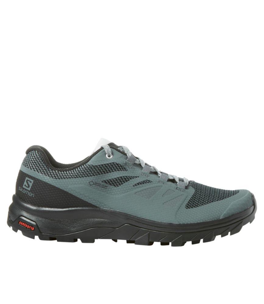 salomon outline gtx womens hiking shoes size