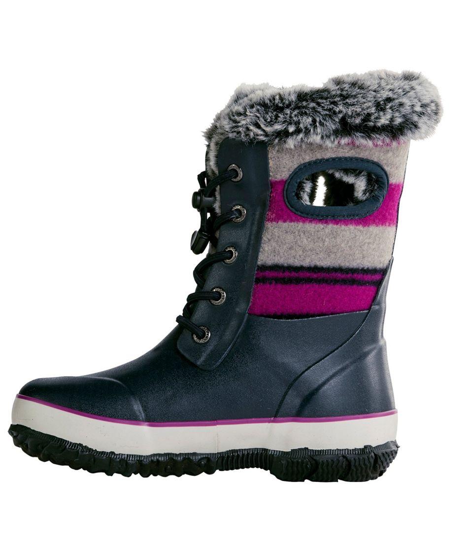 Kids' Bogs Arcata Wool Stripe Boots