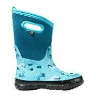 Kids' Bogs Classic Boots, Unicorn