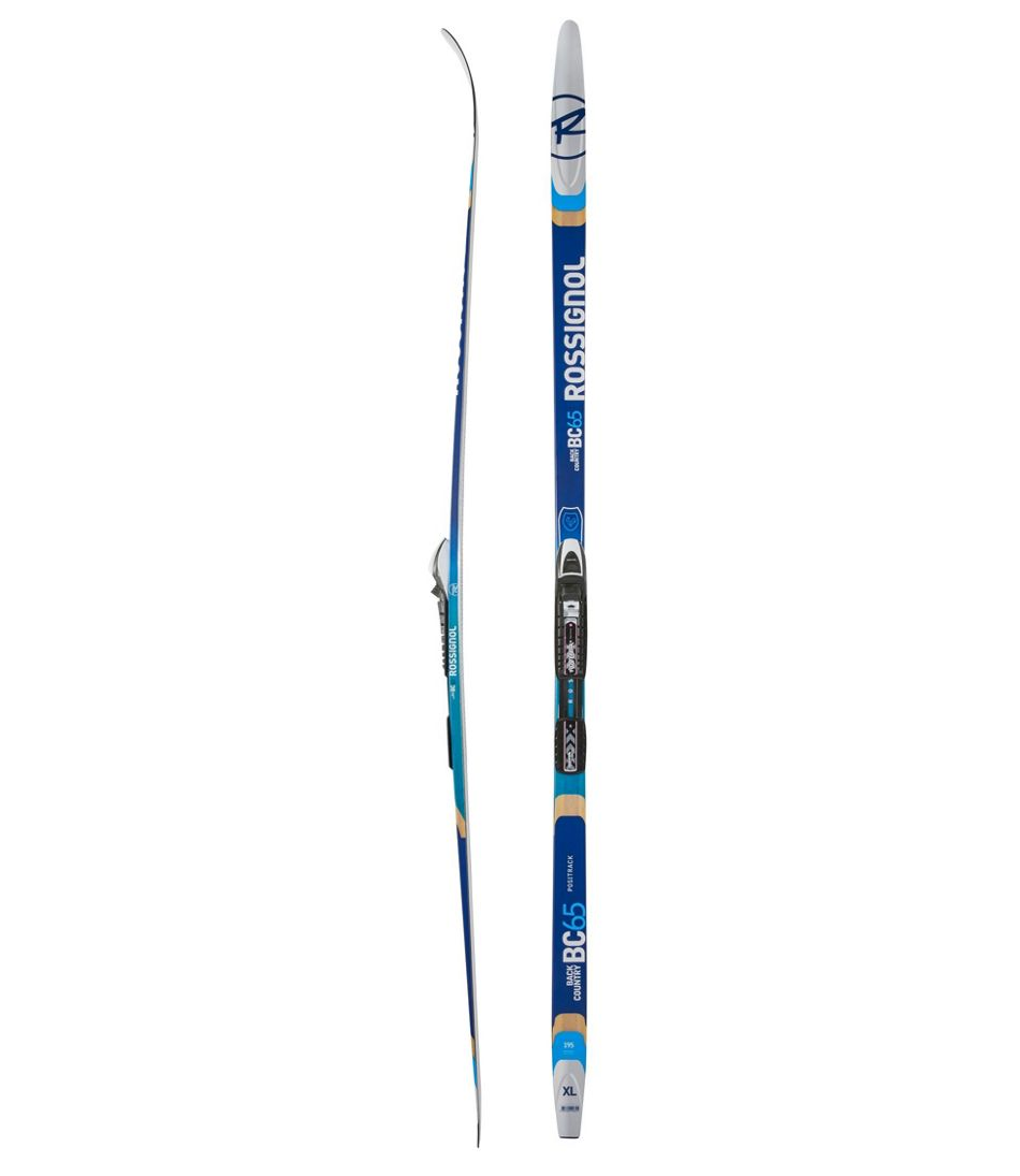 rossignol bc 65 backcountry skis with nnn bc auto bindings