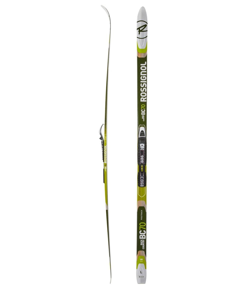 Rossignol BC 70 Backcountry Skis with Mounted NNN BC Auto Bindings