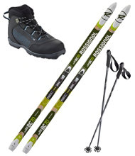Rossignol BC 70 Mounted Ski Set With BC X2 Boot
