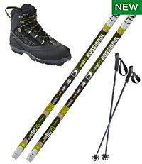 Rossignol BC 70 Mounted Ski Set With BC X4 Boot