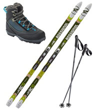 Rossignol BC 70 Mounted Ski Set with BC X4 FW Boot