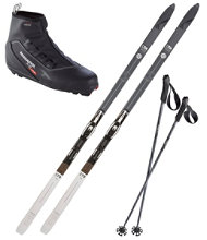 Fischer Adventure 62 Ski Set with X2 Boots
