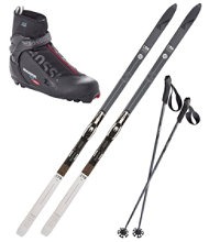 Fischer Adventure 62 Ski Set with X5 Boot