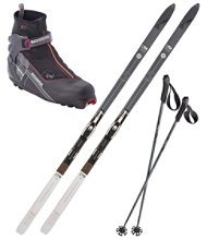 Fischer Adventure 62 Ski Set With X5FW Boots