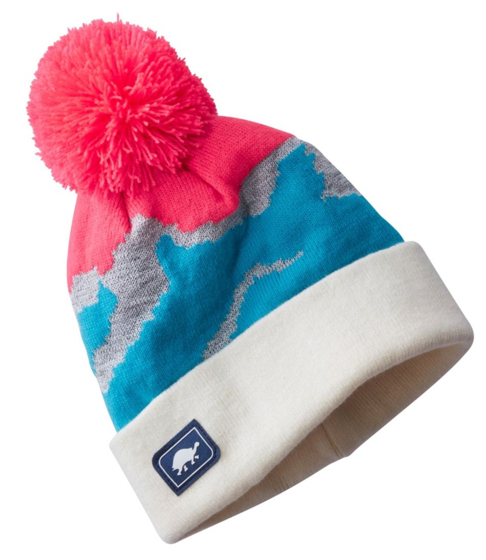Kids' Reflective Mountain Life Hat