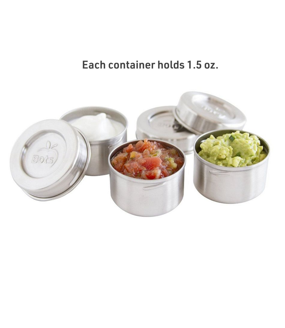 LunchBots Dip Containers, 3 Pack