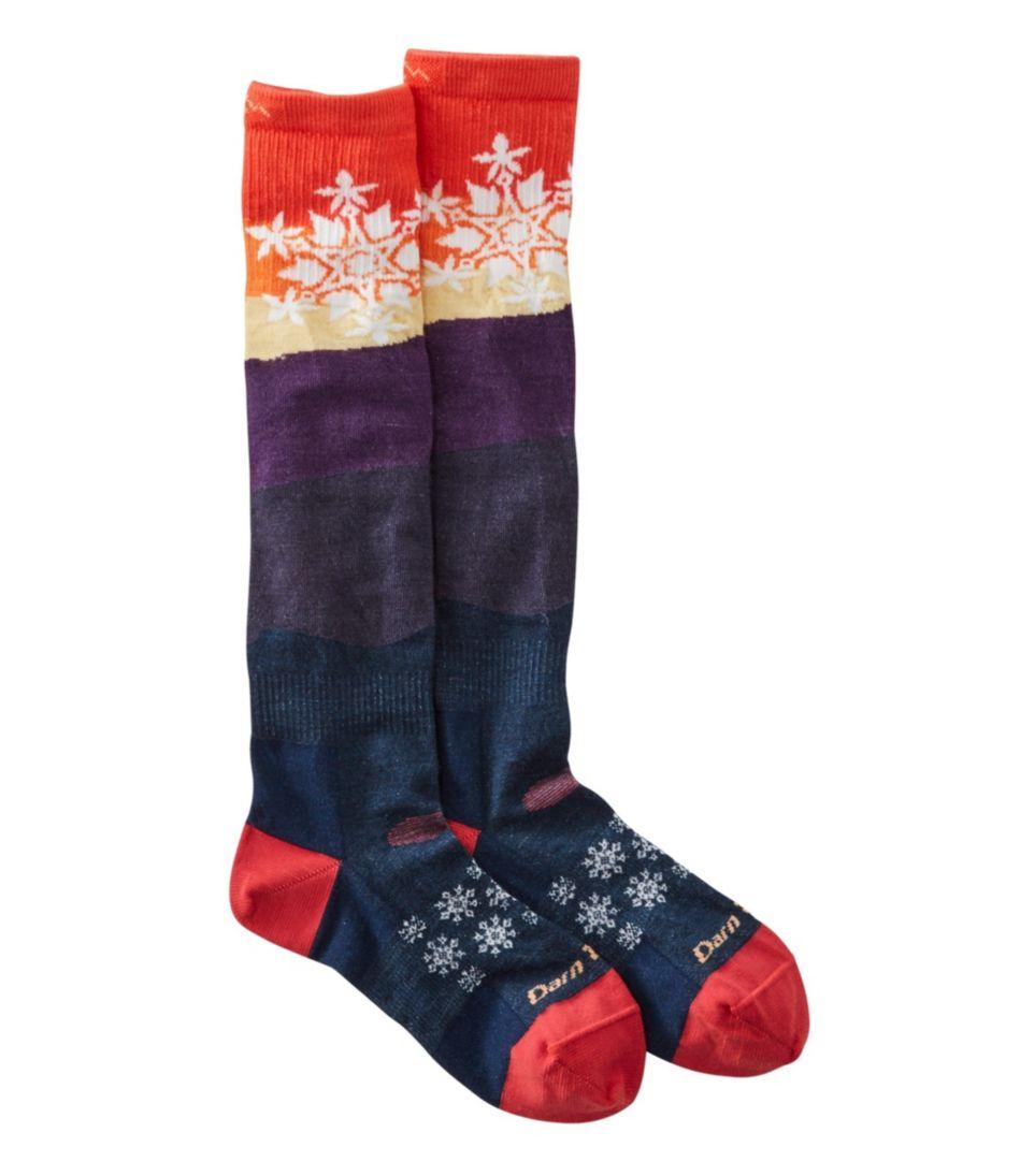 Women's Darn Tough Snowflake Ski Socks