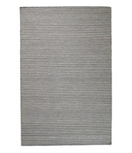 Indoor/Outdoor Pencil Stripe Rug, Charcoal