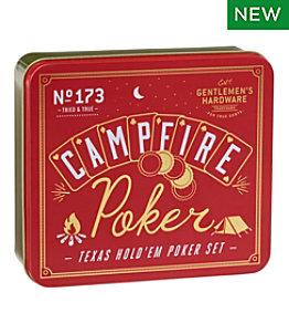 Campfire Poker Game Tin