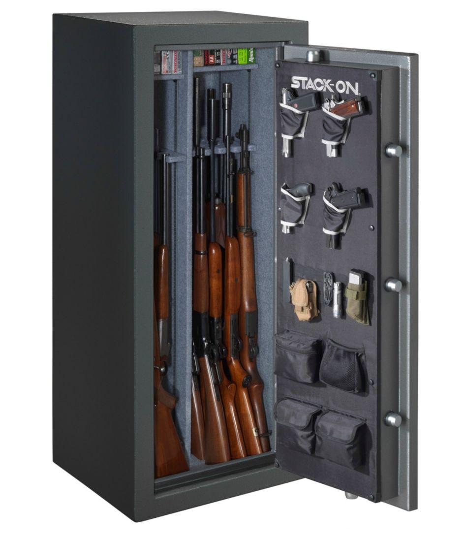 Stack-On Total Defense Gun Safe With Back-Lit Electronic Lock, 22-24 gun