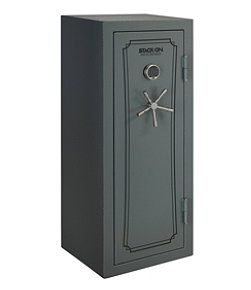 Stack-On Total Defense Gun Safe With Back-Lit Electronic Lock, 22-24 gun